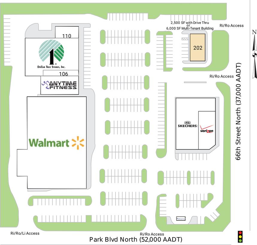 Park 66 Plaza Site Plan